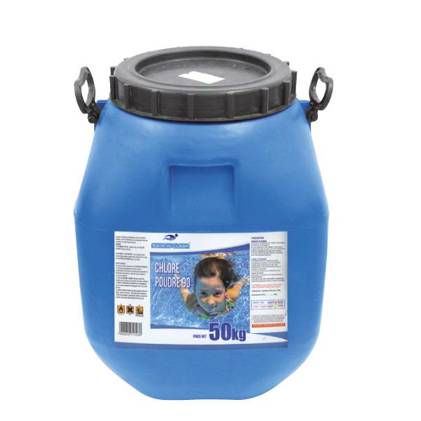 chlore en poudre 50 kg-