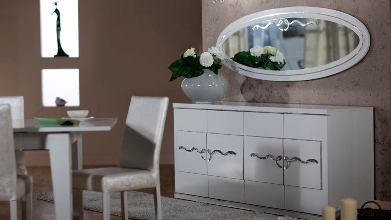 Buffet miroir kristal-