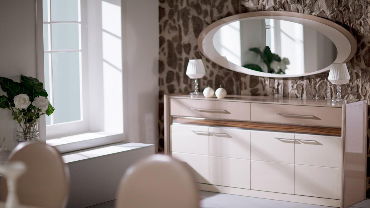 Tual buffet miroir-