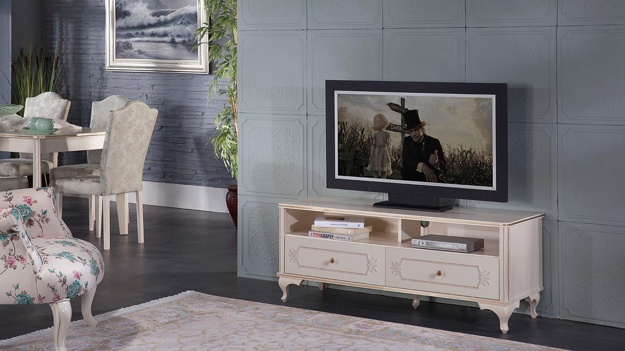 Meuble tv gold-