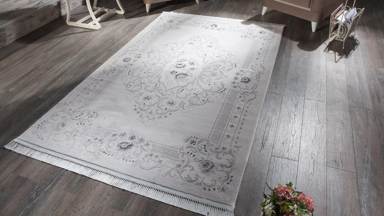 Tapis luxury 02624 grey-